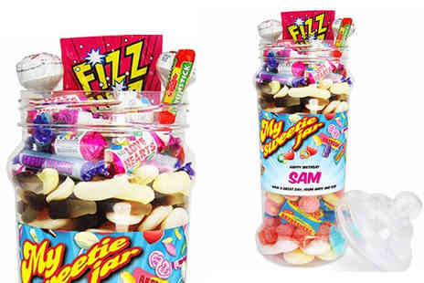 Mysweetyjar - Giant Retro Sweetie Jar - Save 40%