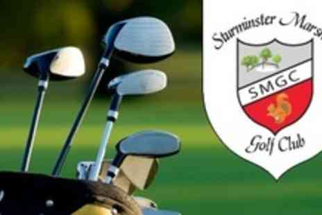 Sturminster Marshall Golf Club - 30 Minute Golf Lesson and Nine Holes For Two - Save 58%