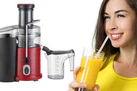 ELECTRIC SHOPPING - Dr Juicer Pro Fruit and Veg Juice Extractor - Save 51%