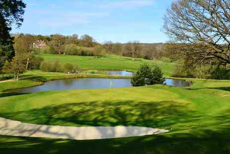 Sweetwoods Park Golf Club - Round of Golf for two - Save 58%
