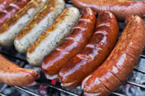 The Sussex Brewery - Delectable Sausage Platter for Two - Save 38%