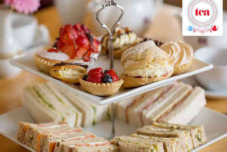 Tea - Afternoon Tea for Two - Save 45%