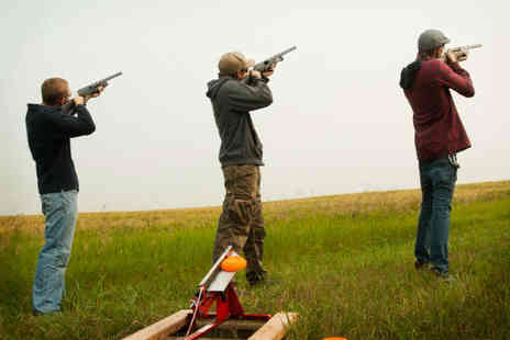 Lea Marston Events - Clay Pigeon Shooting Experience for up to Two with 30 Clays  - Save 58%
