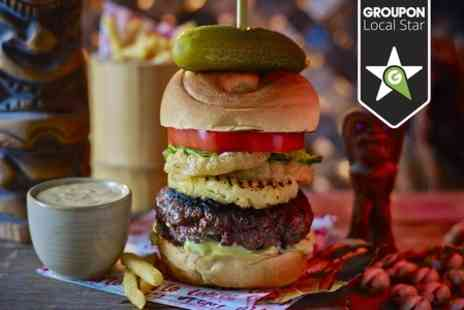 Lola Lo - Two Course Burger Meal - Save 44%