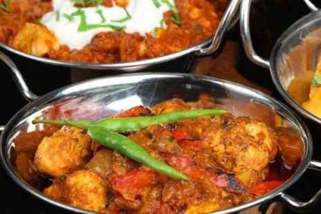 Ve Raj Restaurant - Two Course Indian Meal With Sides For Two  - Save 59%
