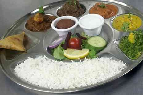 Chaulas - Thali Lunch For Two  - Save 56%