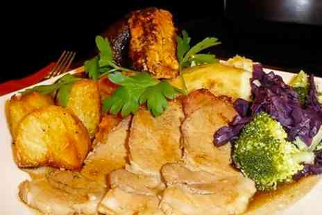 The Pied Bull  - Two Course Sunday Lunch For Two - Save 53%