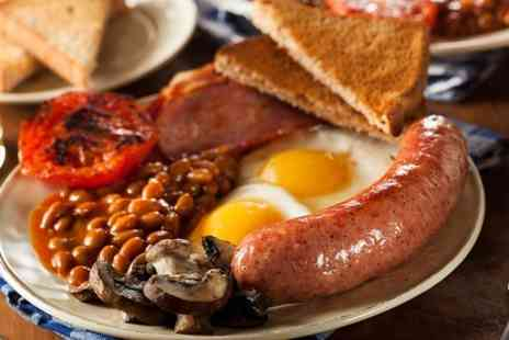 Calisa - Full English Breakfast With Hot Drink  - Save 51%