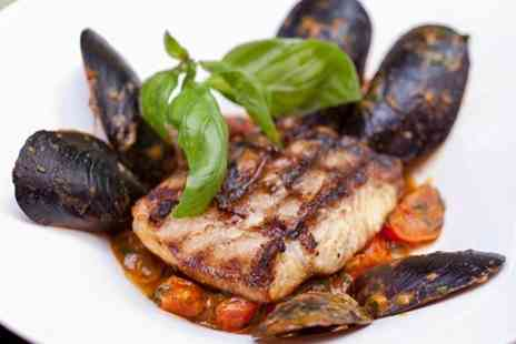 The Grange Restaurant  - Steak and Mussels Meal For Two  - Save 52%