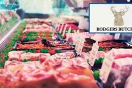 Rodgers Butchers - Butchers Meat Pack Including Sirloin and Black Pudding - Save 95%