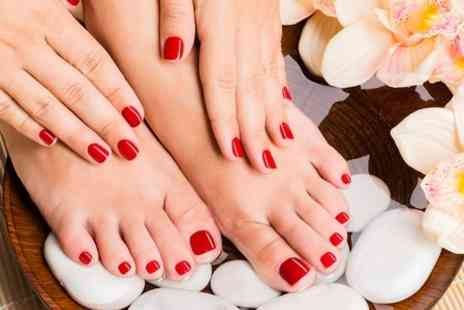 Be Lovely - Luxury Gel Manicure and Pedicure - Save 50%