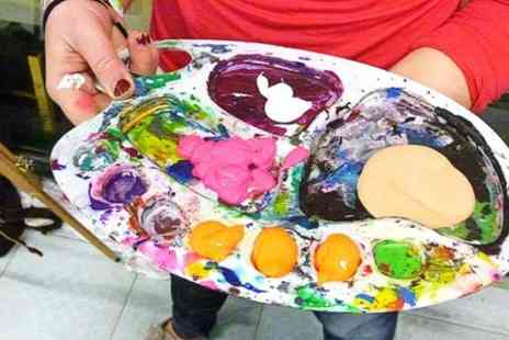 Paint Jam - Painting Party for Art Workshop With Bar and DJ - Save 56%