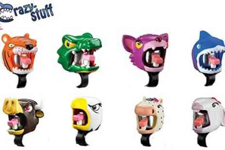 Crazy Stuff - Mad Animal Designs with bells or Crazy Stuff  Matching Helmets available - Save 55%
