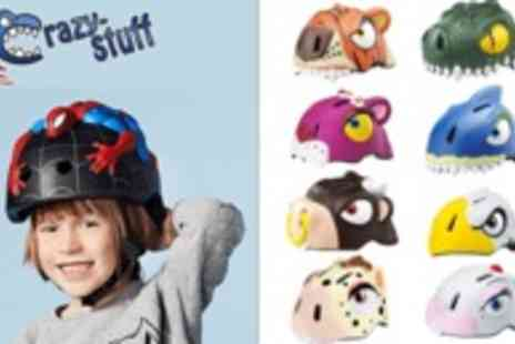 Crazy Stuff - Helmets from Crazy Stuff with matching bell! Mad Animal designs - Save 49%