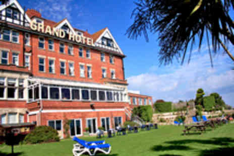 The Grand Hotel - Two Night Dorset Jurassic Coastline Getaway with Dining Option - Save 50%