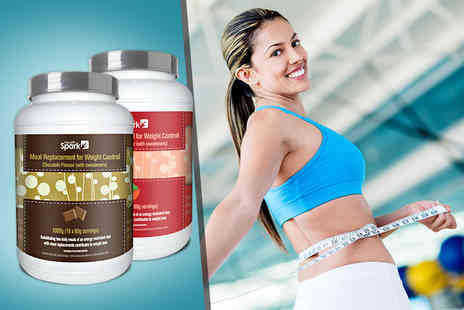 HealthSpark - Four week  supply of 5 diet meal replacement shake mix - Save 56%