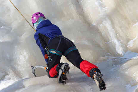 Activity Superstore - Ice climbing experience for one - Save 15%