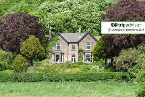 Holmefield Guesthouse - Two night Peak District break for 2 including breakfast - Save 55%