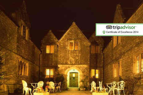 Mortons House Hotel - One night Dorset stay for 2 including breakfast & wine - Save 47%