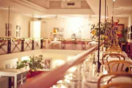 Arlingtons Brasserie - Two Course Meal With Bubbly For Two - Save 46%