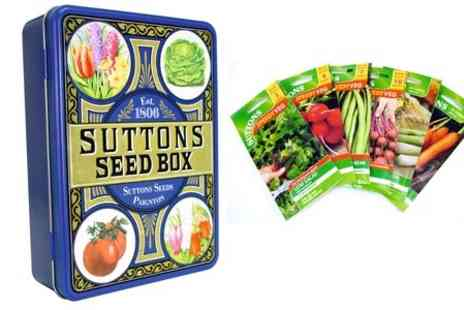 Suttons Seeds - Salad Vegetables or Flower Mix  or Both  - Save 71%