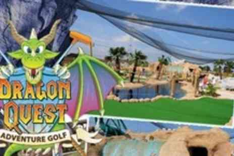 World of Golf Croydon - Dragon Quest Crazy Golf For Family of Four - Save 64%
