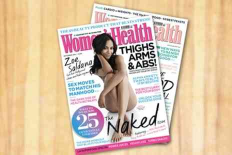 Hearst Magazines - 12 Month Women Health Magazine Subscription  - Save 53%