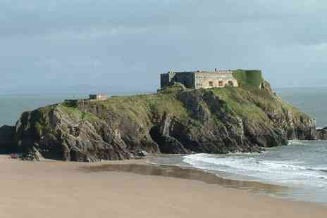 St Teresas Hotel - Two nights stay in Tenby with breakfast, one dinner and a glass of wine included - Save 41%