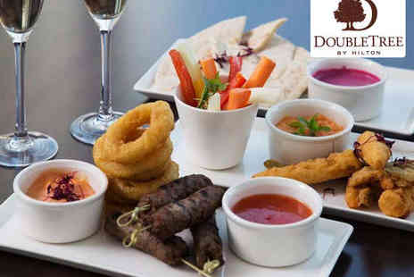 DoubleTree by Hilton Hotel - Sharing Platter for Two with Bottle of Champagne - Save 55%