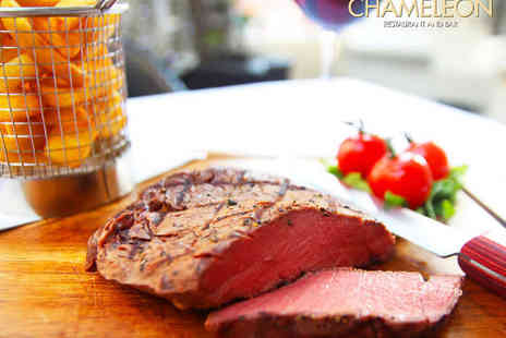 The Chameleon Restaurant and Bar - Two Course Meal for Two - Save 59%