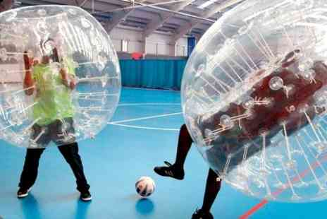 EXCEL Bubble Football - Zorb Football Experience For Up to 15  - Save 29%