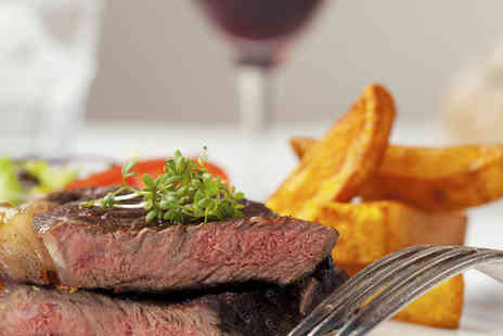 The Partridge Inn - Steak dinner & wine for two  - Save 50%