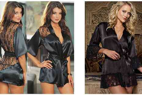 Risque Intentions - Satin And Lace Nightwear Sets - Save 61%