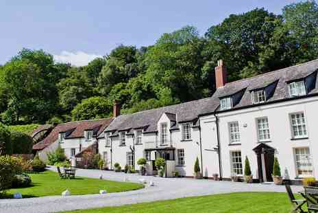 Combe House Hotel - Overnight Somerset Stay with Cream Tea & Meals - Save 35%