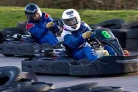 West Country Karting - 80 karting sprint laps for one - Save 75%