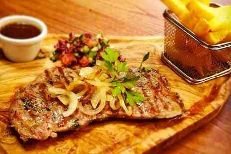 Steakout Luton - Steak Meal With Soft Drink For Two - Save 49%