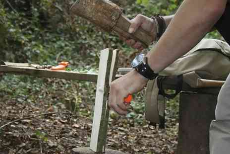 Serious Outdoor Skills - One Day Survival and Bushcraft or Tracking Course  - Save 60%
