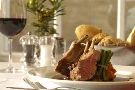 Cafe Des Amis - Two Course French Meal For Two With Wine - Save 49%