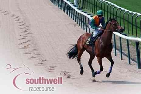 Southwell Racecourse - Night at The Races For Two With Premier Enclosure Admission and Live Band - Save 63%