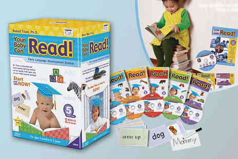 Rocka by baby - Your Baby Can Read Early Language Development DVD Set - Save 62%