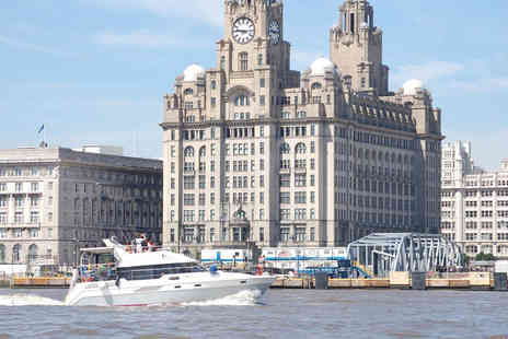 Liverpool Boat Charter - One hour boat tour of Liverpool including glass of bubbly - Save 60%