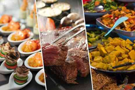 Everest World Buffet - World buffet for two including Indian Thai Chinese and Italian food - Save 57%