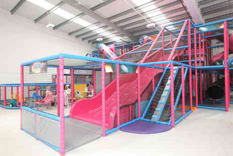 Spaceworld Soft Play - Family pass for Two adults and two - Save 50%