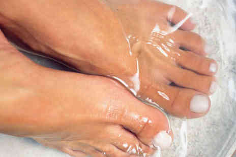 London Foot Specialist - Foot Pampering Session with Podiatry Treatments - Save 81%
