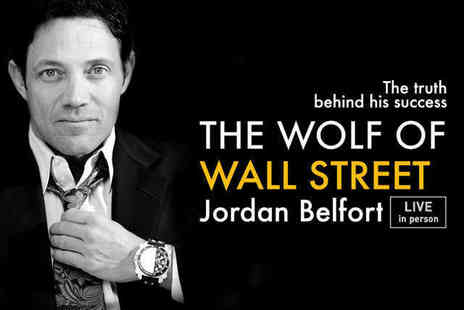 Success Resources - Gold Ticket to See Jordan Belfort The Wolf of Wall Street  and Special Guests Live - Save 30%