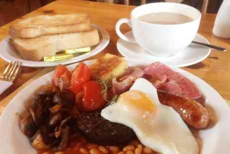 The Farm Burscough - Full English Breakfast With Drink For Two - Save 49%