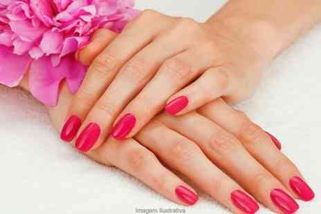 The Salon Birstall - CND Shellac Manicure or Pedicure or Both  - Save 60%