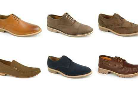 SW Shoes - Mens Handmade Prestige Leather Shoe  - Save 70%