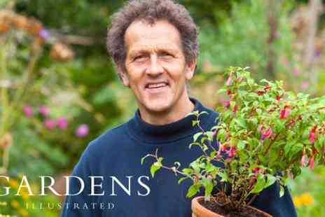 Gardens Illustrated - One Balcony Ticket to Monty Don Gardens Illustrated Talk - Save 50%