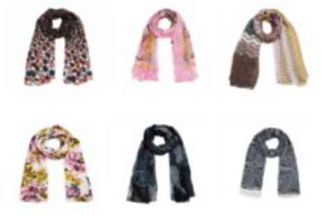 Catwalk Glamour - Two ladies autumn scarves - Save 50%